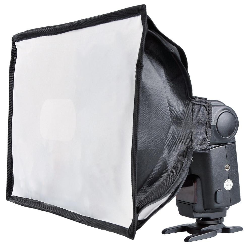US $12 99  GODOX roof flashing light diffusers softbox folding machine type  dome light softbox box 20 * 30 20cm*30cm free shipping-in Photo Studio