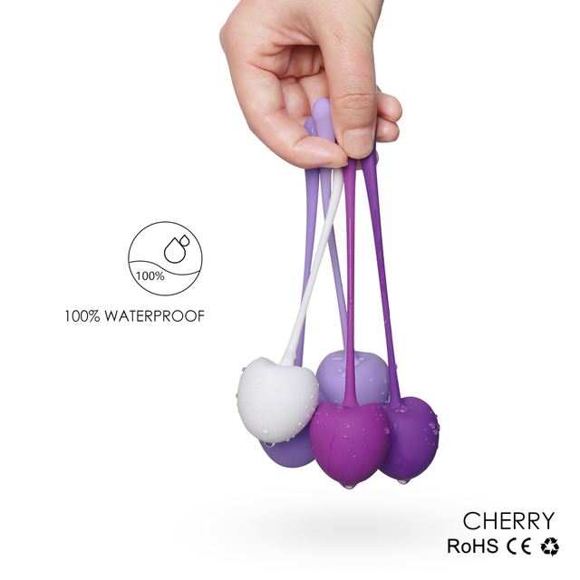 5pc/set Vagina Balls Trainer Sex Toys Silicone Ben Wa Balls Vagina Tightening Exerciser Kegel Ball Women Adult Sex Products 4