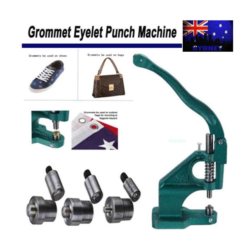 Heavy Duty Grommet Hole Punch Machine Eyelet puncher Hand Press font b Tool b font 3