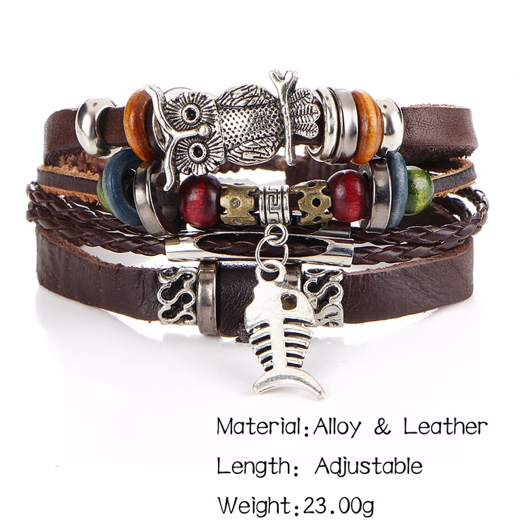HTB1BDbSMVXXXXXraFXXq6xXFXXXZ Trendy Leather Bracelet For Men And Women - 5 Styles