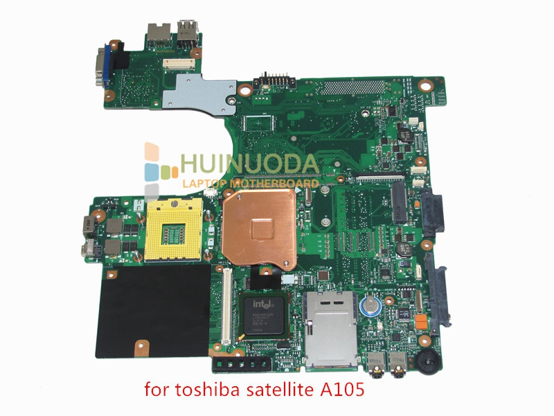 NOKOTION motherboard for toshiba satellite A100 A105 laptop main board 945GM DDR2 without graphics slot V000068770 V000069110 nokotion for toshiba satellite l840 l845 laptop motherboard main board ddr3 daby3cmb8e0 a000174140 hd7670m 1gb
