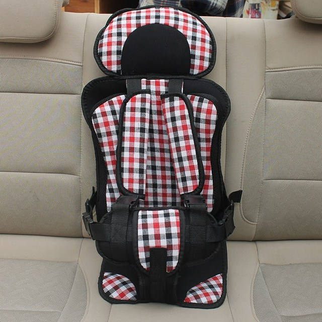 New Kids Car Safety Seat 0-4 Yrs Baby Car Seats Children's Chairs in the Car Adjustable Belt Chair Carrier Seat Cushions Size S