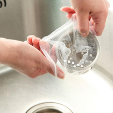 100pcs Kitchen Sink Strainer Bag Mesh Sewer Water Filter for Home Restaurant filter