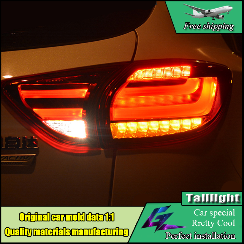 Car-styling Taillights For Mazda CX-5 2012-2015 LED Tail Lamp LED Rearlights Back Light DRL+Brake+Reversing+Signal Lamp car styling cx 5 taillight 2012 2016 led free ship 4pcs cx 5 fog light car covers cx 5 tail lamp chrome cx 5 cx5