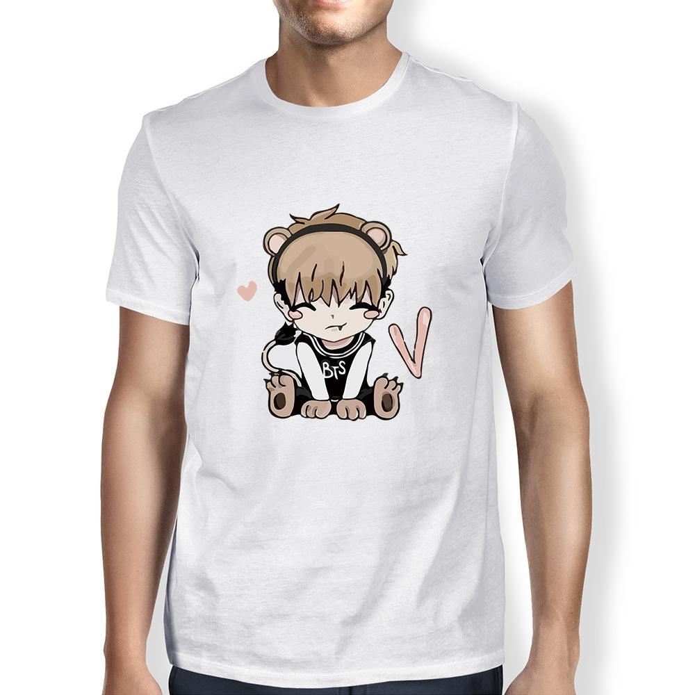 Compre Bts Camiseta Kpop Masculino 2018 Bangtan Meninos T Shirt JUNG ... 2d6d33eb4c996