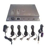 Centechia IR Infrarouge Télécommande Répéteur Extender Kit 8 Émetteurs avec 1 Récepteur Caché A/V Système Dispositifs GDeals