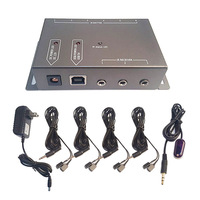 IR Infrared Remote Control Repeater Extender Kit 8 Emitters With 1 Receiver Hidden A V Devices