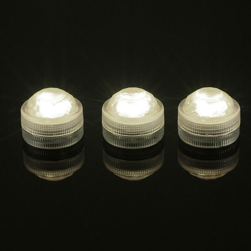 10*3 светодиода погружные свет открытый декоративные светильники с пультом дистанционного управления для Водонепроницаемая Свадебная вече...