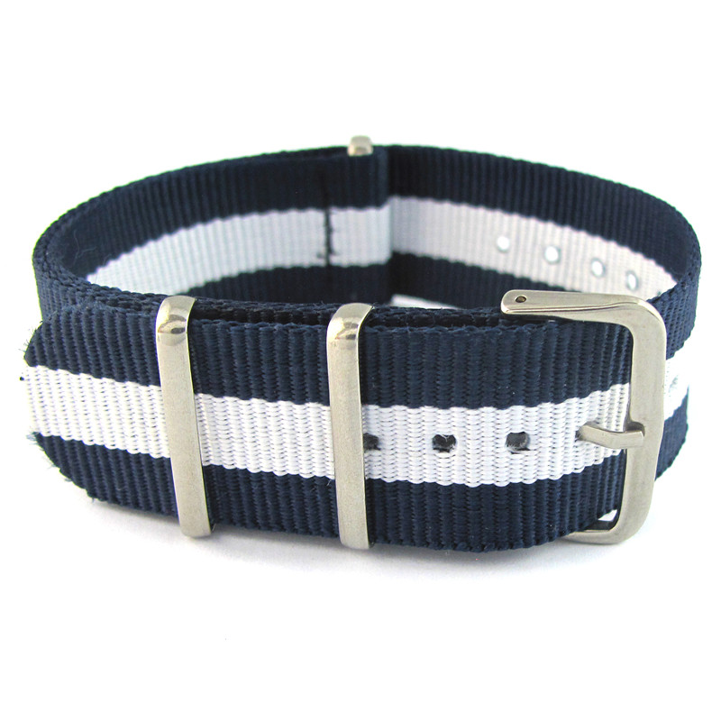 Bracelet de montre En Nylon Coloré bande pour montre-bracelet