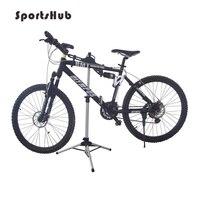 70 132CM Aluminum Bicycle Parking Racks Bike Display Stand Kickstand Repair Rack Parking Holder Folding Bike