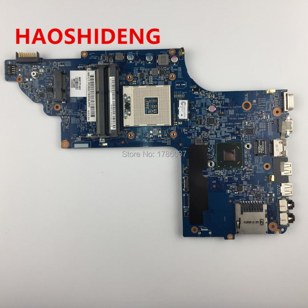 682177-501 682177-001 For HP pavilion DV6 DV6-7000 DV6-7300 series Laptop Motherboard,All functions fully Tested! wholesale laptop motherboard 682171 001 for hp envy dv6 dv6 7000 630m 2g notebook pc systemboard 682171 501 90 days warranty