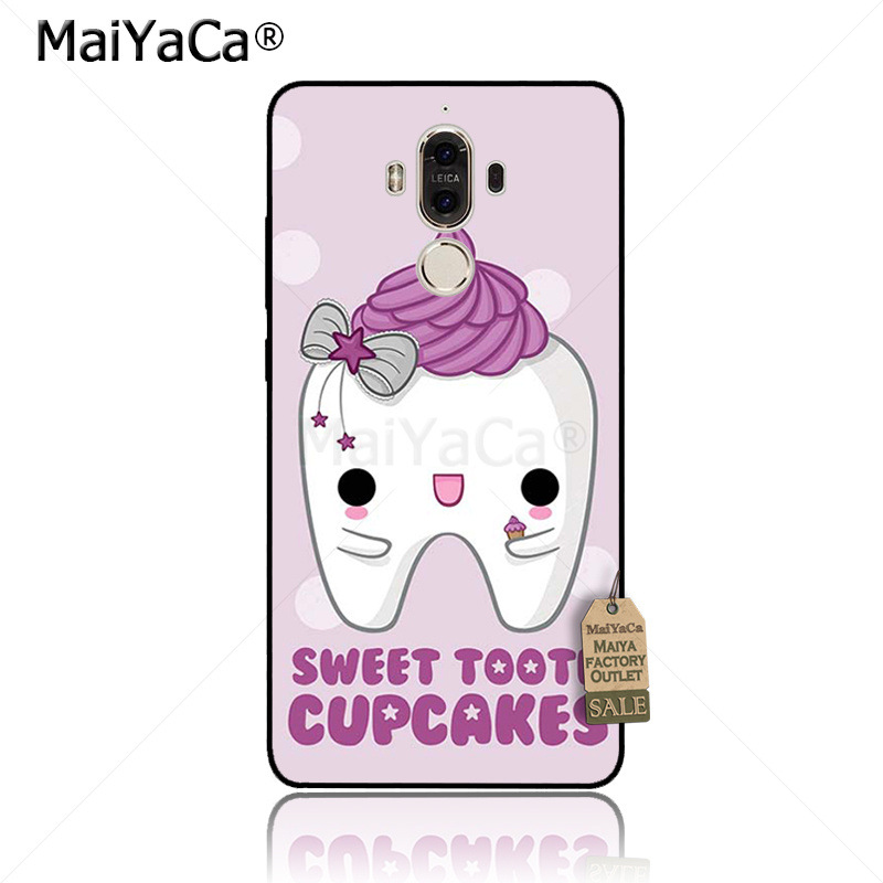 Cellphones & Telecommunications Maiyaca Cartoon Tooth Nurse Doctor Dentist Stethoscope Phone Case For Huawei P20 Pro P9 P10 Plus Mate9 10 Nove 3e Case Coque