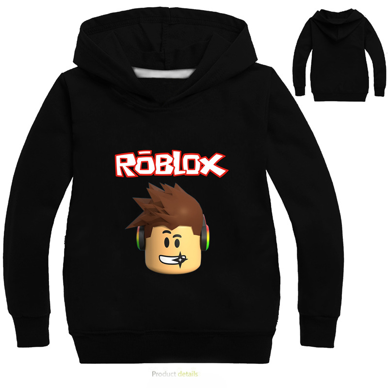 Kids Hoodies Roblox Boys Sweatshirt Long Sleeve Boys Jacket Outwear Hoodies Costumes Clothes Shirts Children's Sweatshirts