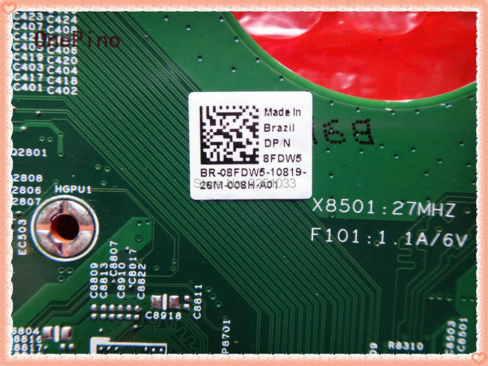 48.4IE01.031 Notebook for Dell Inspiron 15R N5110 Motherboard 8FDW5 08FDW5 VVN1W 0VVN1W Motherboard HM67 DDR3