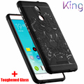 King ForRedMi note2 3/ XIAOMI 3 5 4 C S Heavy Duty Armor Shockproof Hard Soft Silicone Phone Case TPU Matte Rugged Rubber Dragon