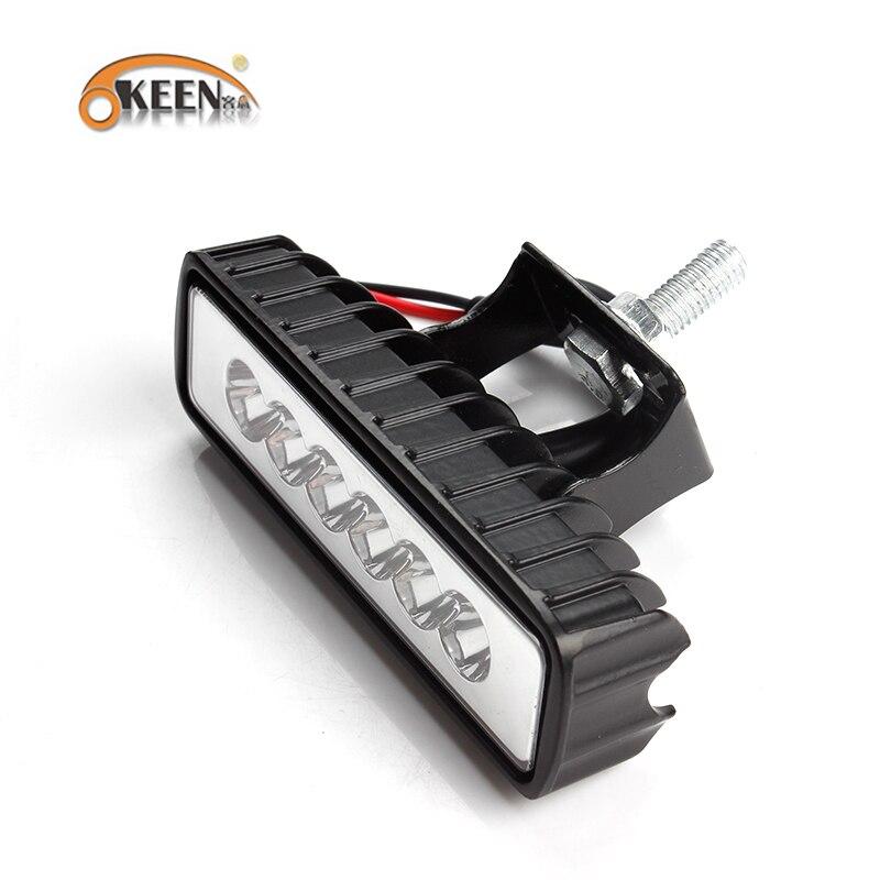 HTB1BDdBXPzuK1Rjy0Fpq6yEpFXaU OKEEN 4inch 10cm 18W 27W 48W Offroad Car 4WD Truck Tractor Boat Trailer 4x4 SUV ATV 24V 12V Spot LED Light Bar LED Work Light