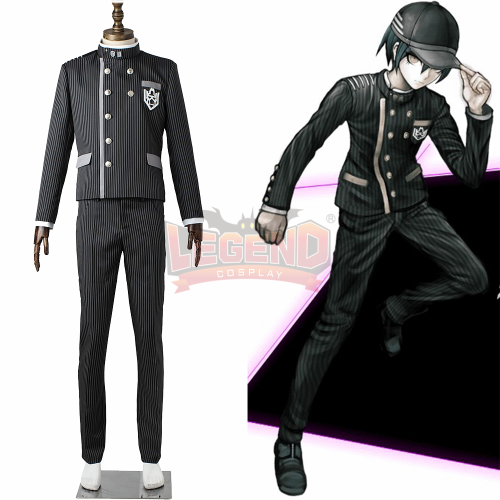 Coaplylegend Danganronpa V3 Killing Harmony Saihara shuichi super detective Cosplay adult costume 2017 halloween men costume