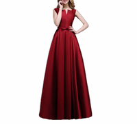 Fashion Floor Length Evening Party Long Dress Vintage Sleeveless Women Dress Backless Vestidos Verano 2019 Plus Size 6xl Dresses