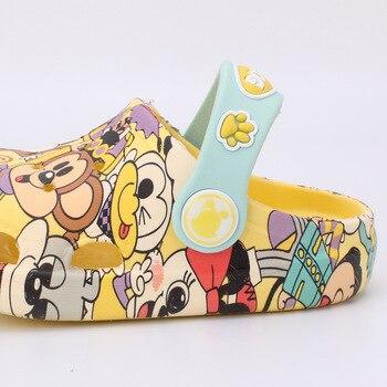 Kocotree קיץ בנות בני תינוק מקורה נעלי קריקטורה כלב נוח ילדי אופנה סנדלי תינוק אנטי להחליק חוף כפכפים
