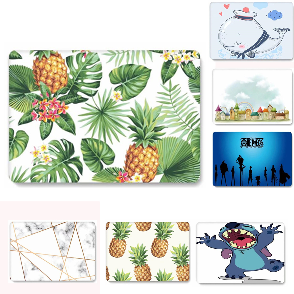 Print Shell Case For Macbook Air 13.3 Laptop Sleeve For Macbook Air Pro Retina 11 12 13 15 Cover Touch Bar