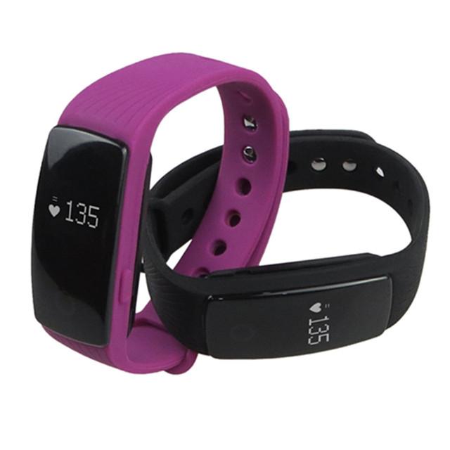 ID107 Pulseira do Fabricante do Monitor de Freqüência Cardíaca Inteligente Bluetooth pulseira Inteligente