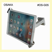 10 to 13 inch android tablet wall mount with secure holder mounting on table or desk for surface pro 12 inch for ipad pro - Tablet Wall Mount