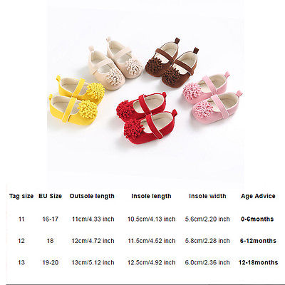 Cute Baby Gilrs Infant Kids Princess Flower Moccasins Soft Sole Shoes Infantil Newborn Cotton Floral Crib Anti-Slip Prewalker