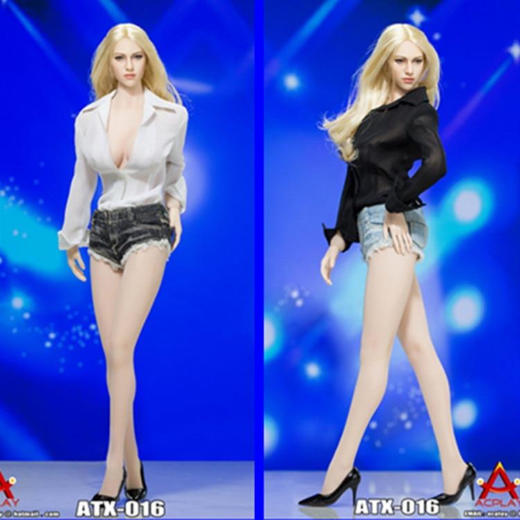 ФОТО  ATX016 1:6 Shirt & Shorts & Shoes Set for 12