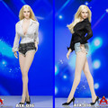 """ACPLAY ATX016 1:6 Shirt & Shorts & Shoes Set for 12"""" Female Phicen jiaodol Kumik Body Figures Accessories"""