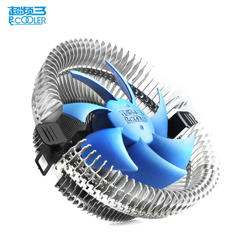 Pccooler cpu cooler 9cm quiet fan for Intel 775 1150 1151 1155 1156 AMD AM2 AM3 FM FM2 computer PC cpu cooling radiator fan new pc cpu cooler cooling fan heatsink for intel lga775 1155 amd am2 am3 a97
