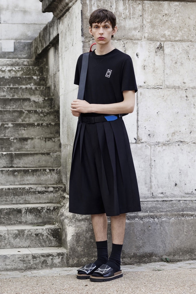 Vêtements Mode Jupe Large Grand D Chanteur Hommes Ieu Pantalon Pli Costumes Noir De Défilé Lâche 2016 Jambe qxRtCfwn