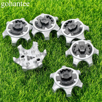 14pcs /Lot Golf Shoe Spikes Golf Spikes Pins 1/4 Turn Fast Twist Cleats Shoes Spikes Tool Replacement Golf Training Accessories кронштейн podspeakers the drop sputnik spikes подставки напольные