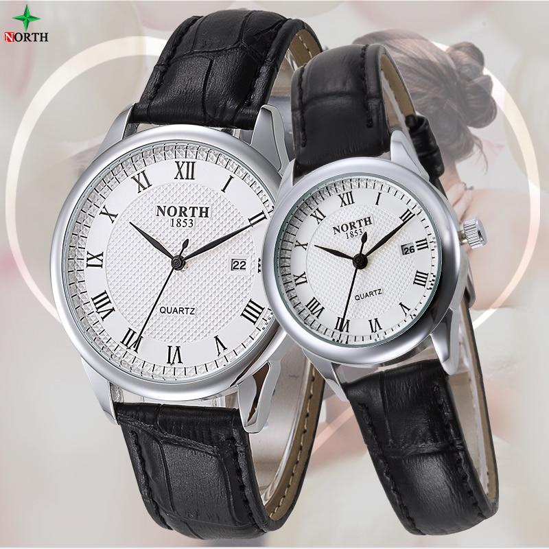 Relogio Masculino 2016 Fashion Ladies Watch Women Leather Waterproof Brand Mens Wrist Watches Business Quartz Lovers