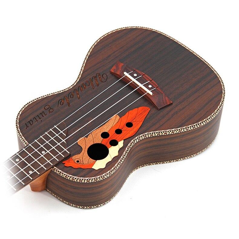 Concert ukulélé 23-26 pouces 4 cordes hawaïen Mini guitare acoustique Ukelele guitarra