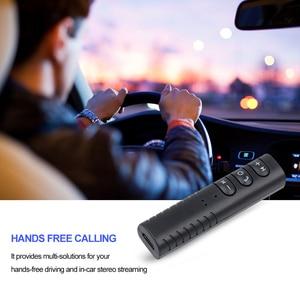 Image 4 - Kebidu Mini ricevitore Bluetooth Wireless Jack da 3.5mm adattatore Audio musicale Bluetooth con microfono per altoparlante per cuffie