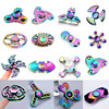 2017 3 Colours Tri Spinner Finger Spinner Triangle Handspinner Fidget Hand Spinner Zinc Alloy Fidget Toy
