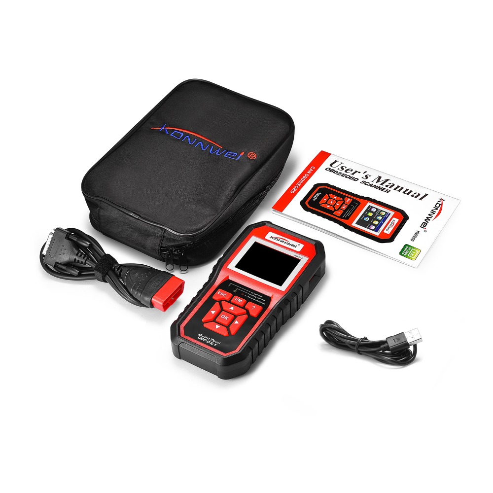 High Accuracy Professional OBD2 Auto Scanner Multi language Diagnostic Car Tools Battery Tester Universal OBD Engine