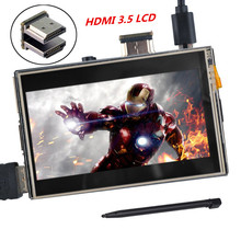 3.5inch LCD HDMI USB TFT Touch Screen Support 480×320 — 1920×1080 LCD Display Audio for Raspberry Pi 2 Pi 3 (Play Game Video)