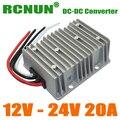 RCNUN @ Step Up DC DC Converter 12 Volt to 24 Volt 20 Amps Boost Power Module 12V-24V 480W