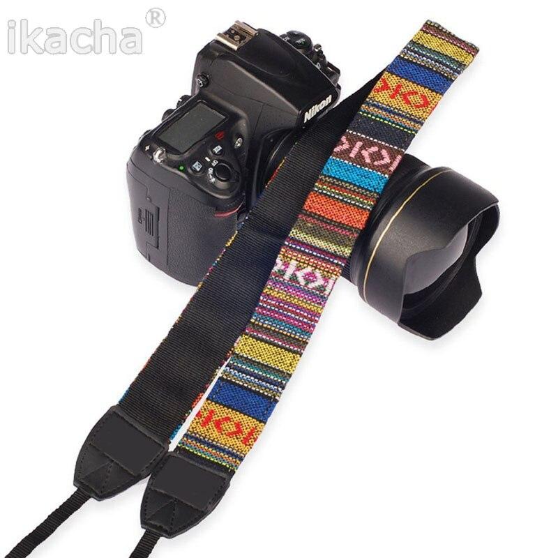Camera Shoulder Neck Strap Vintage Style Camera Shoulder Neck Strap Belt for Nikon for Canon for Sony for DSLR Camera
