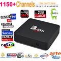 Caixa de TV Android IPTV Europa BM8 Pro IPTV 1 Ano 1150 + Árabe itália suécia portugal Caixa de TV Ao Vivo IPTV Canais de Esportes 4 K PK mag 254