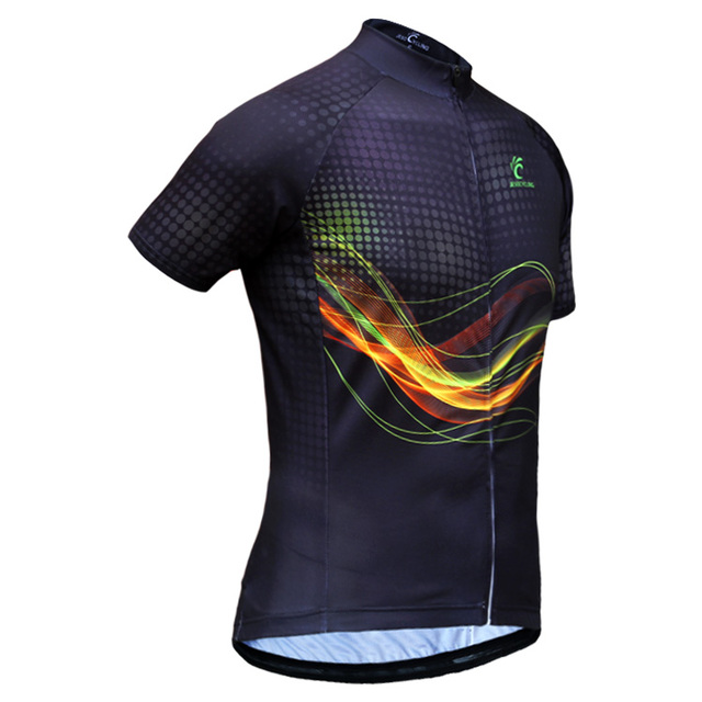 Hot Selling Breathable Men's Cycling Jersey 2018 Hot Design Summer Short Sleeve Cycling Jerseys Quick-Dry Cycling Clothing
