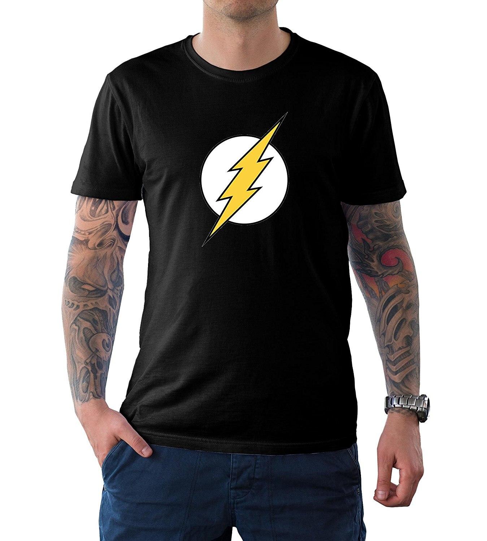 Возьмите decrum флэш-Футболка-Мужские супергероя красная рубашка-дело дня