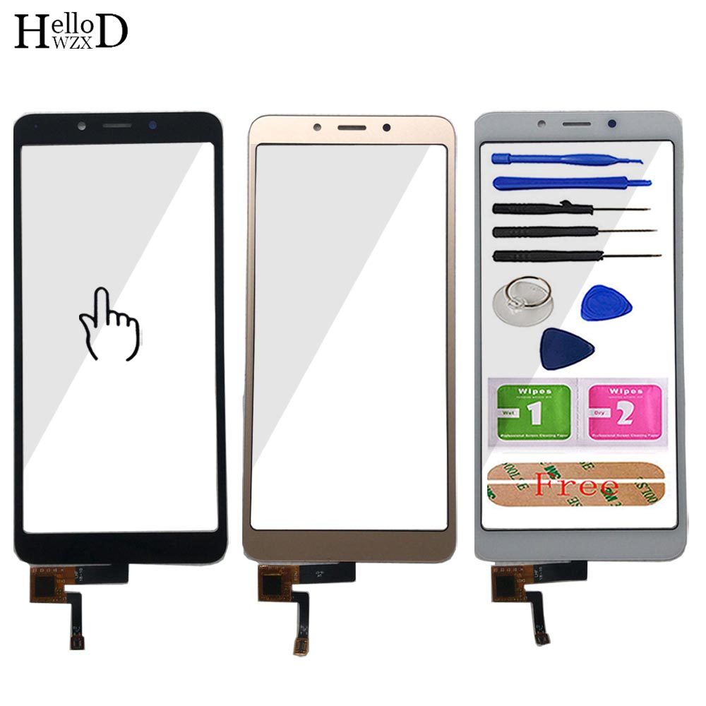 Mobile Touch Screen Front Glass For Xiaomi Redmi 6A Touch Screen 5.45'' Digitizer Sensor Panel Replacement Tools Adhesive
