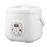 2L Smart Rice Cooker Mini Small Home Cooking Appliances for Students Children Old Men Cooking Rice Congee Soup Steaming Cake