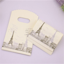 Eiffel Tower Design Gift Bags 50 pcs/lot