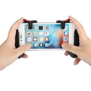 Image 5 - 1 par L1R1 PUBG Gatilho Botão de Fogo Shooter Com Telefone Esperto Móvel Joysticks Controller Gamepad Para iphone Android Móvel