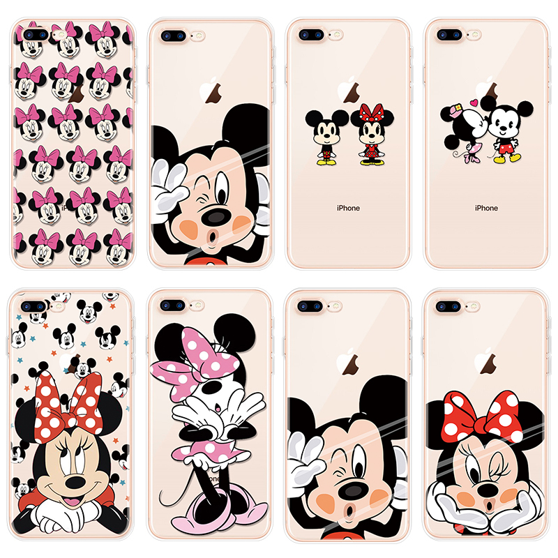 TPU Soft Cartoon Coque for iPhone 5 5S 5C 7 8 Plus 11 Pro 6 6S X 4 4S SE for Cover iPhone XS Max Cases for iPhone XR Case Fundas