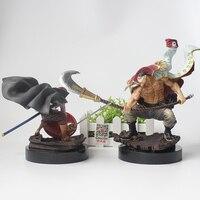 Anime Een Stuk Action Figure Witbaard Edward Newgate v Roodharige Shanks PVC Collectie Model Speelgoed
