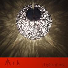ARK LIGHT New Modern DIA 11CM Round Aluminum Wire BALL Pendant Lamp Light Fixture  free shipping ark light free shipping black spider pendant lamp creative pendant 1 light fashion fixture